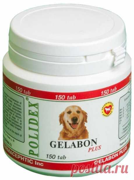 Купить Добавка в корм Polidex Gelabon plus 150 таб. по низкой цене с доставкой из Яндекс.Маркета