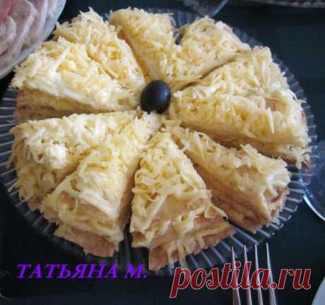 Пирог с сыром | Быстро и вкусно | Группы Мой Мир