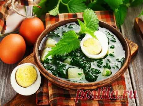 Суп с крапивой, щавелем и яйцом Суп из крапивы с яйцом и картофелем – традиционный российский рецепт здорового питания