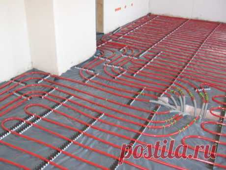 We do a water heat-insulated floor by the hands: full instruction