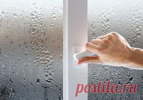 Почему потеют окна в квартире изнутри что делать
