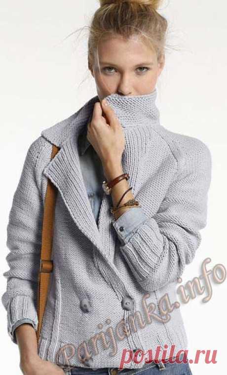 Женский блузон (ж) 23*104 Phildar №3997