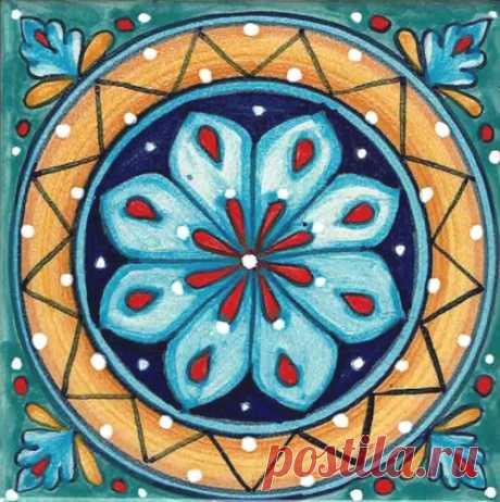 Italian Ceramic Tiles Hand Painted Deruta Tiles