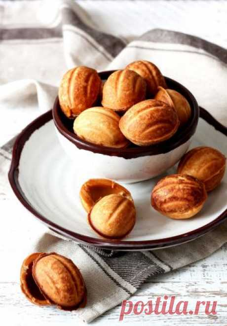 Печенье орешки с вареной сгущенкой - Сладкий мир