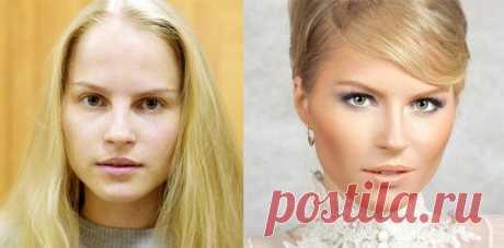 Как умелый макияж может преобразить девушек