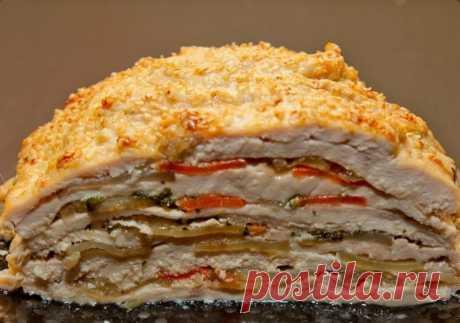 Слоёная курица — Кулинарная книга - рецепты с фото