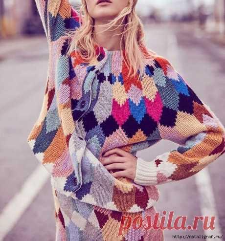 красивые идеи вязания - Самое интересное в блогах