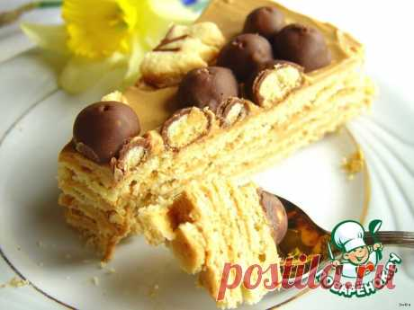 Simple sand cake Culinary recipe