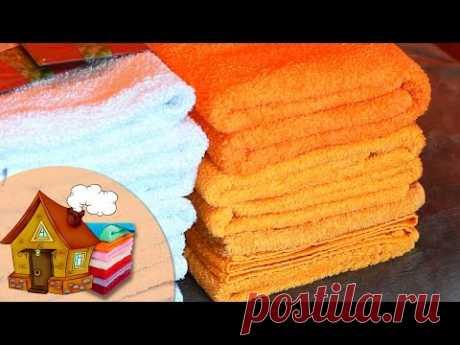 ▶ Como PONER las TOALLAS, el almacenaje | Antonova Nastya