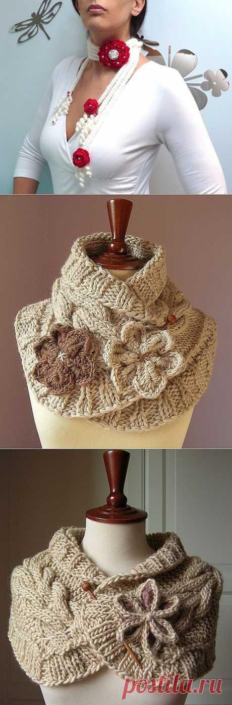 шарфы идеи.