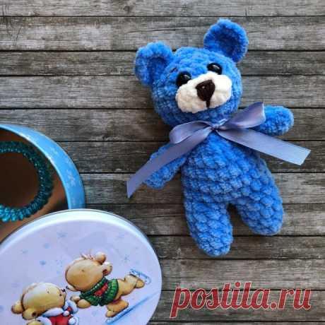 Вяжем мишку-крошку (игрушку амигуруми) из категории Интересные идеи – Вязаные идеи, идеи для вязания