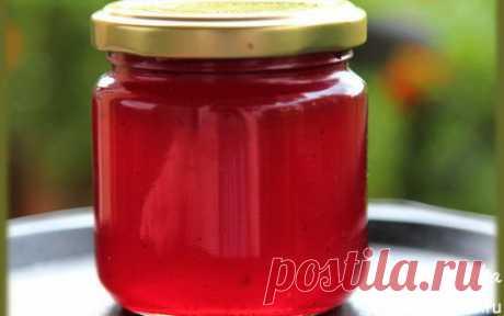 Желе из красной смородины   Кулинарные рецепты от «Едим дома!»