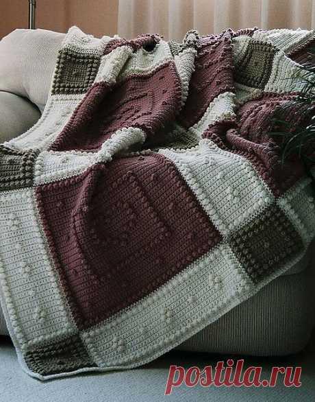 Ravelry: Be Mine шаблон для крючком узором одеяло Джоди Pyott