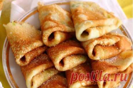 Восхитительные сладкие блинчики из кабачков