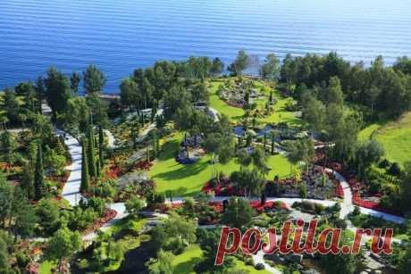 Удивительный тропический сад в Норвегии - Путешествуем вместе