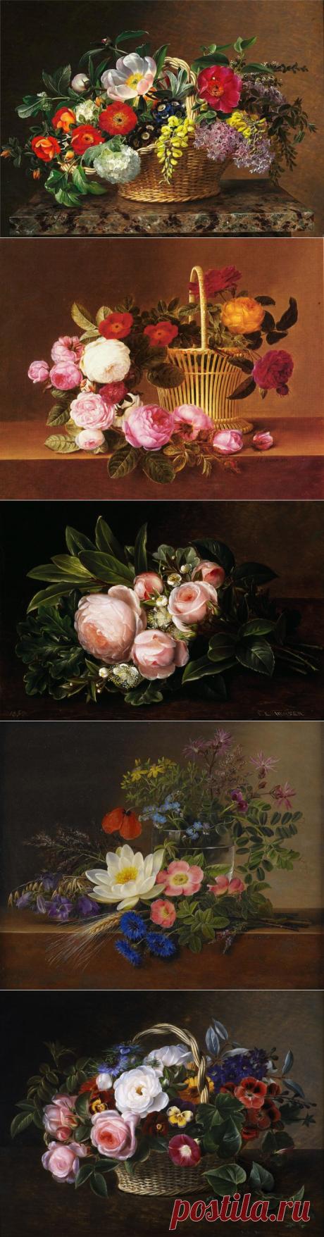 Датский художник Jensen Johan Laurentz