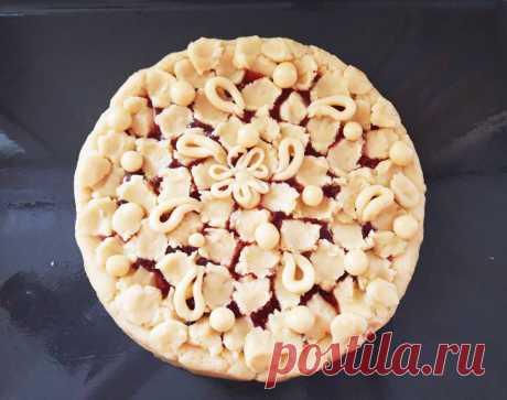 Ажурный пирог - рецепт с фото пошагово