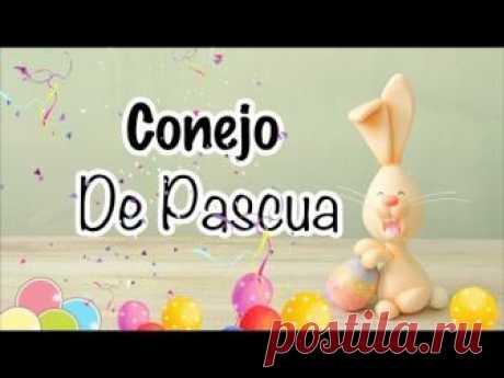 Cómo hacer un Conejo de Pascua | Pasta Flexible