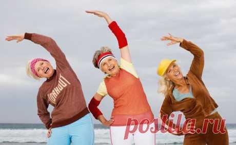 Упражнения для активного долголетия