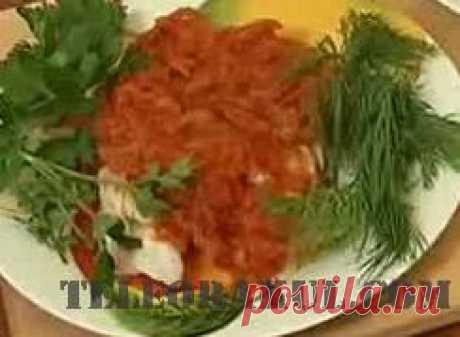 Сибас под маринадом (рецепты: Званый ужин) - рецепты с фото