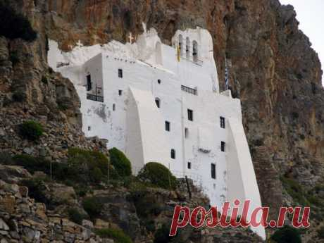 Монастырь Панагия Хозовиотисса — Путешествия