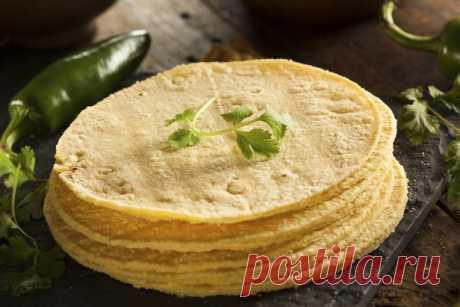 Кукурузные тортильи рецепт | Гранд кулинар