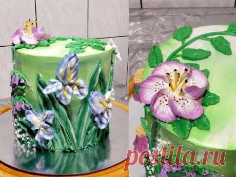 """Торт """"МАКРО ЦВЕТЫ"""" от SWEET BEAUTY СЛАДКАЯ КРАСОТА, Cake Decoration"""