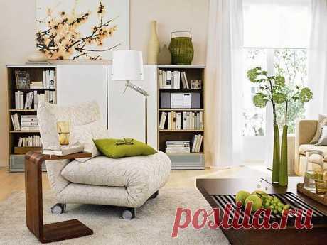 Умная мебель для маленьких квартир: комнаты с практичной и легкой обстановкой.