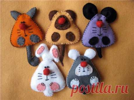 Felt – ideal material for toys \/ Blog of the Anya \/ Guardian