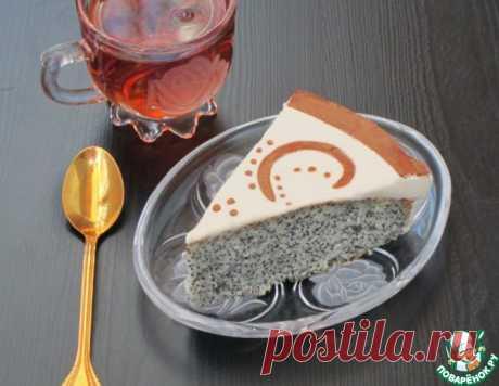 Маковый пирог со сметанной заливкой – кулинарный рецепт