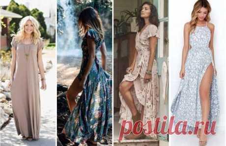 Какие платья лучше выбирать на весну-лето 2017