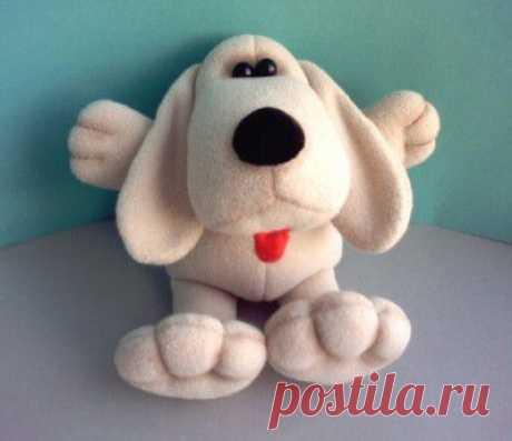 Выкройки для шитья мягких игрушек разнообразных собак..