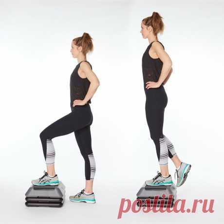 4 лучших упражнения укрепляющие коленный сустав | Всегда в форме!