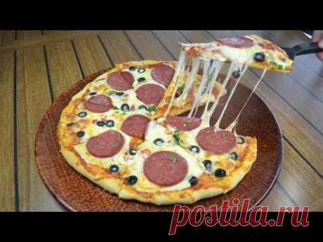 Perfect Pizza at home | УМОПОМРАЧИТЕЛЬНАЯ ДОМАШНЯЯ ПИЦЦА
