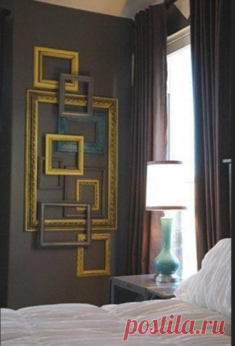 Фотографии на стене, как разместить....