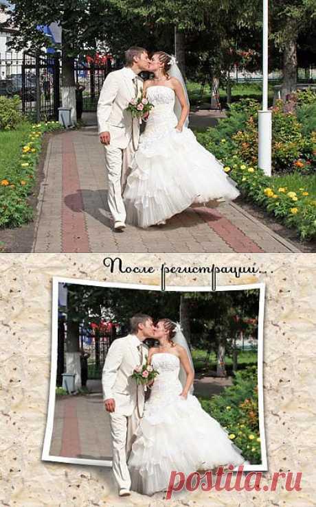 Свадебный коллаж 2 / Photoshop уроки и всё для фотошоп - новые уроки каждый день!