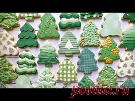 TREE COOKIES | Satisfying Video Compilation | THE GRACEFUL BAKER