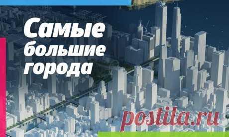 Крупнейшие города на земле