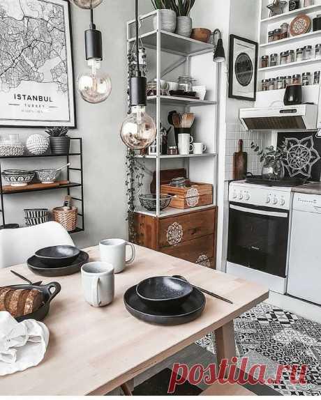 Женщина создала потрясающий сканди-интерьер в своей однушке 31 м2 | Дом и Уют в нем | Яндекс Дзен