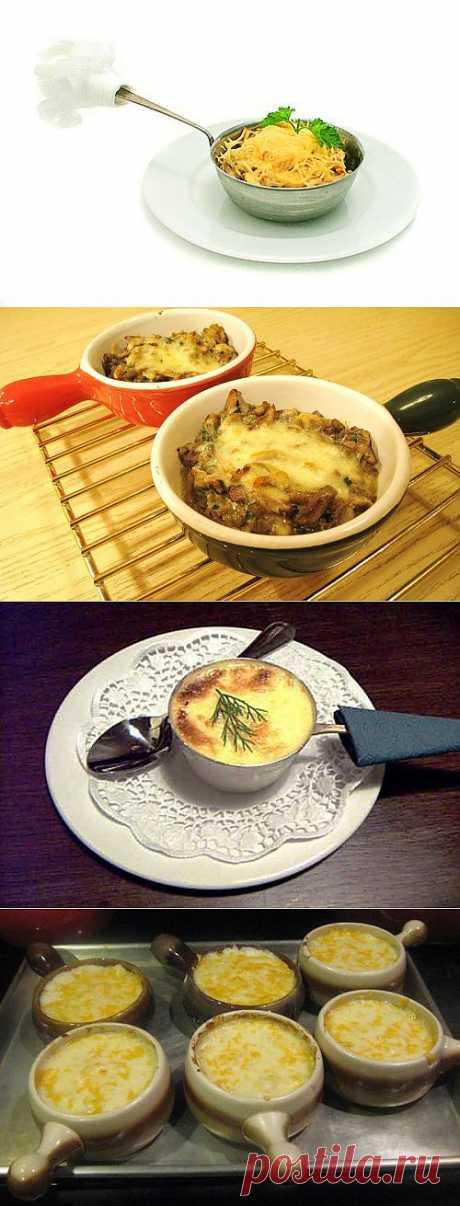 Жульен по-осеннему: готовим жульены с овощами / Простые рецепты