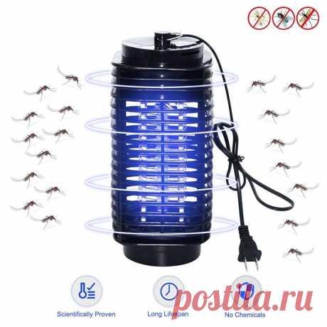 Переносная Светодиодная лампа для уничтожения насекомых, 110 В/220 В|Лампа от насекомых| | АлиЭкспресс