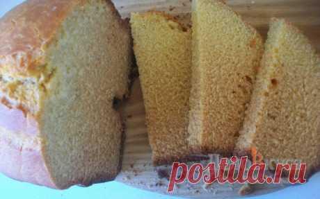 Хлеб кукурузный в хлебопечке рецепт с пошаговыми фото