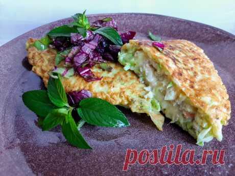 Кабачковый чебурек: рецепт приготовления с фото - Mamaella.ru