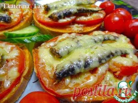 Горячие бутерброды со шпротами – кулинарный рецепт