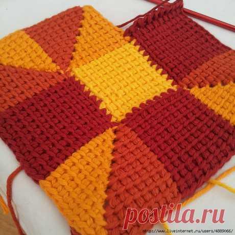 МК-Тунисское вязание
