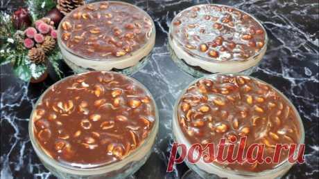 Трайфл мега сникерс - популярный десерт, который понравится всем гостям