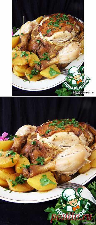 Ароматная курочка с картошкой в мультиварке - кулинарный рецепт