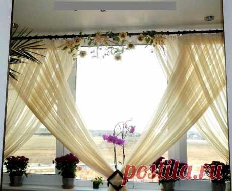 Идеи для праздничного оформления штор — DIYIdeas