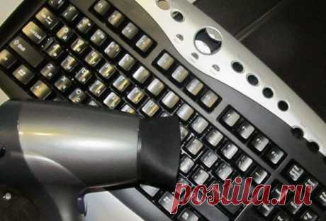 How to clean the laptop keyboard? — Useful tips