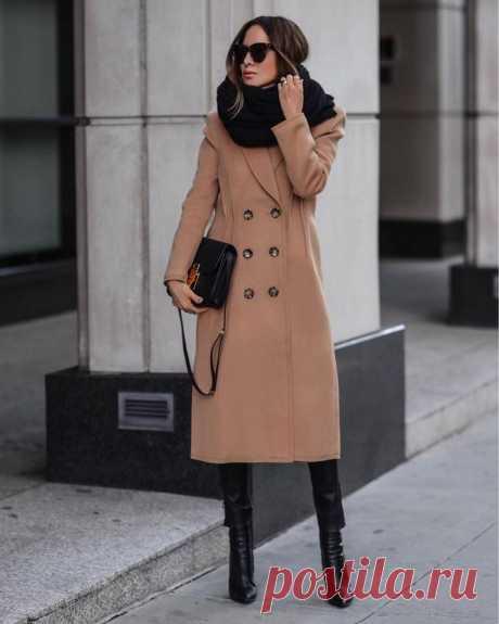 Как носить двубортное пальто: советы по созданию стильного образа